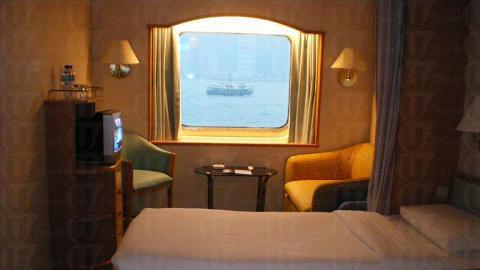 海景客房面積不小。