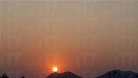 日落好靚呀!劃上完美句號。