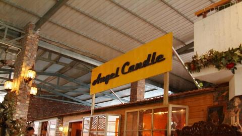 Angel Candle 出售的蠟燭專攻歐洲市場。