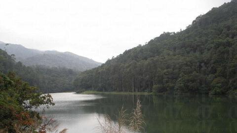 流水響水塘雖只是個儲水庫,但環境清幽,看着甚心矌神怡。