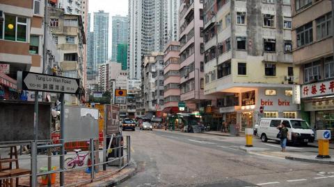 大坑不少食肆皆聚集在浣紗街一路。