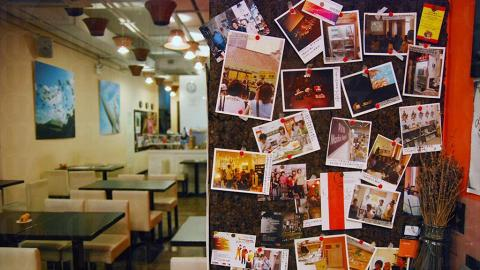阿麥廚房會不定期舉辦畫展、相片展等各種文化活動。