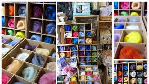 各色羊毛手作工具,發掘未來手作人。(la Belle Epoque 網站圖片)