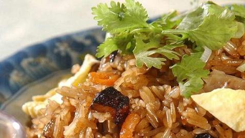 生炒糯米飯是藝人蓋鳴暉的至愛。