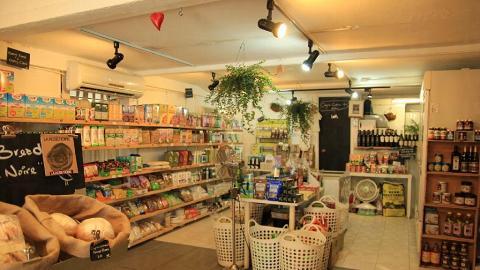 店內超過 400 多種有機產品,上至茶葉,下至有機嬰兒用品亦在此發售。