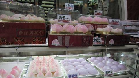紫色的番薯包賣相討好,甚有特色。