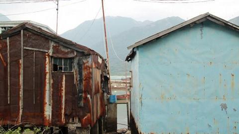 馬灣涌村內部份房屋仍以棚屋形式建於水上,極具大澳水鄉風情。