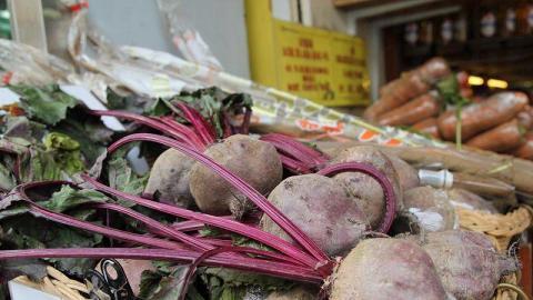 農城售賣的蔬菜種類繁多,可以找到連街市也沒有的品種,絕對是新煮意之選!