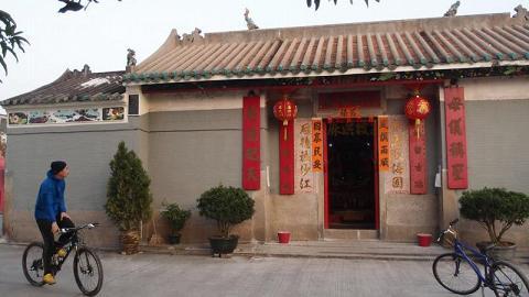 沙江天后廟始建於清朝康熙年代,歷史悠久。
