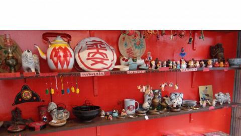 店內出售的平安包紀念品,很多都是全島獨有的。