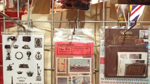 各款旅行貼紙,最啱旅遊時會寫日記的朋友。