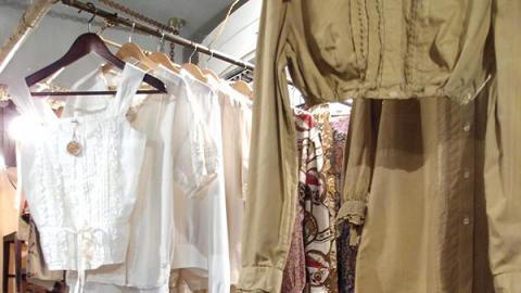 Luddite 主打歐洲復古衣飾及古著軍服,風格獨特。
