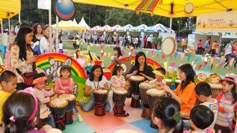 大會還會舉辦多項文娛表演、親子遊戲等節目活動。(2012 花展圖片)