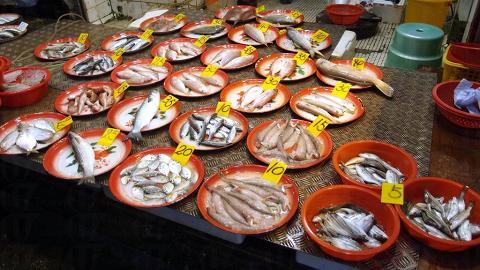 魚檔都集中在奶路臣街