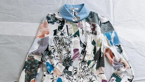 Print pattern連身裙$4,990