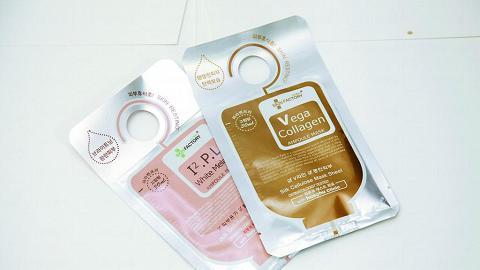 熱賣 Skin factory 絲纖維面膜,不易移位。