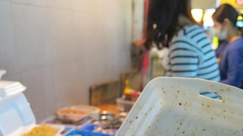 什錦炒腸粉。