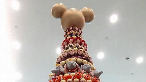 人氣迪士尼公仔聖誕樹