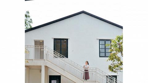 旅館最大的特色是「多樓梯」,每個旅舍外都有長樓梯,保留原有的建築特色。