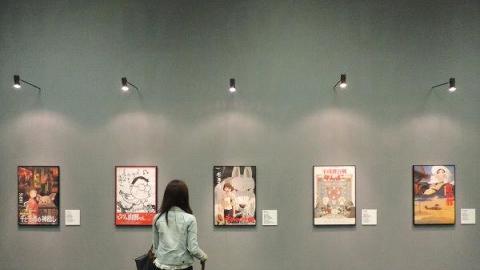 地下場館展出多套電影動畫海報,免費入場。