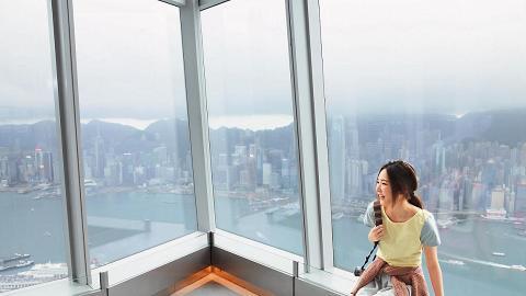 天際 100 觀景台,俯瞰港九風景