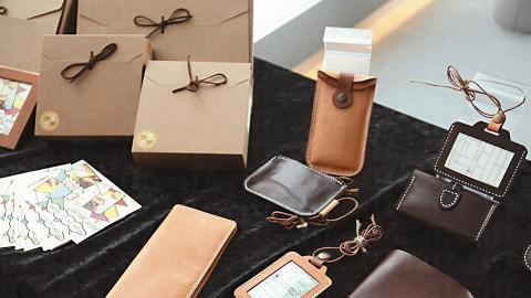 在mini market 可找到本地品牌Leatherism的各式皮製品及DIY禮盒