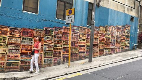 香港街頭必去影相位!遊走全港4大塗鴉牆