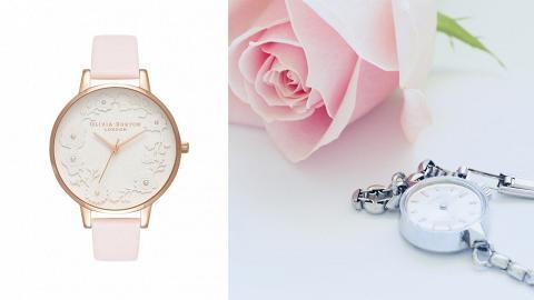 30款$1500以下粉紅/玫瑰金手錶推介!精選4大平價人氣飾物品牌