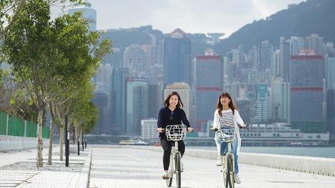 【戶外好去處】全港5大單車公園推介!海景單車徑/適合單車新手、小朋友