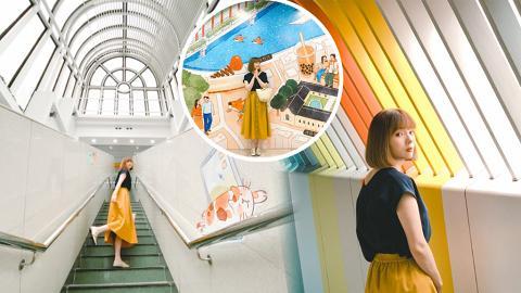 【大埔好去處】大埔週末一日遊影相位懶人包!最新10大壁畫登場/幻彩步道/香港鐵路博物館