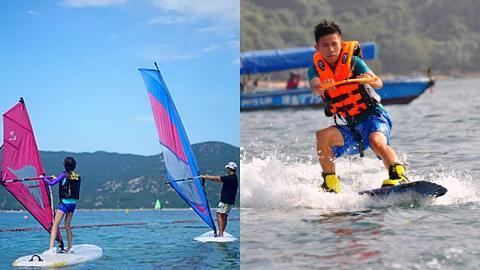 【親子好去處】5大親子水上活動直立板獨木舟$200起 8歲起可玩風帆水上滑板/獨立沖身間/停車場