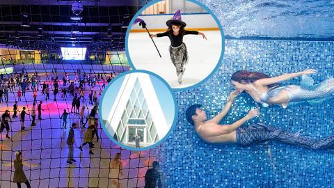 【萬聖節2021】愉景灣一日遊最新7大好去處!萬聖節嘩鬼溜冰派對/水底美人魚泳班/首間IKEA進駐