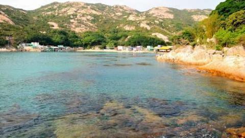 蒲台島 天涯海角賞奇石