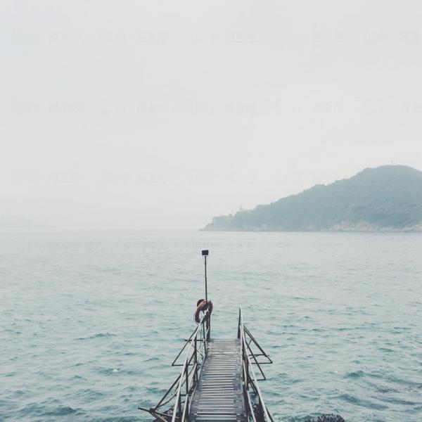 西環泳棚影出文青feel相片 (圖: Phyllis Chan)