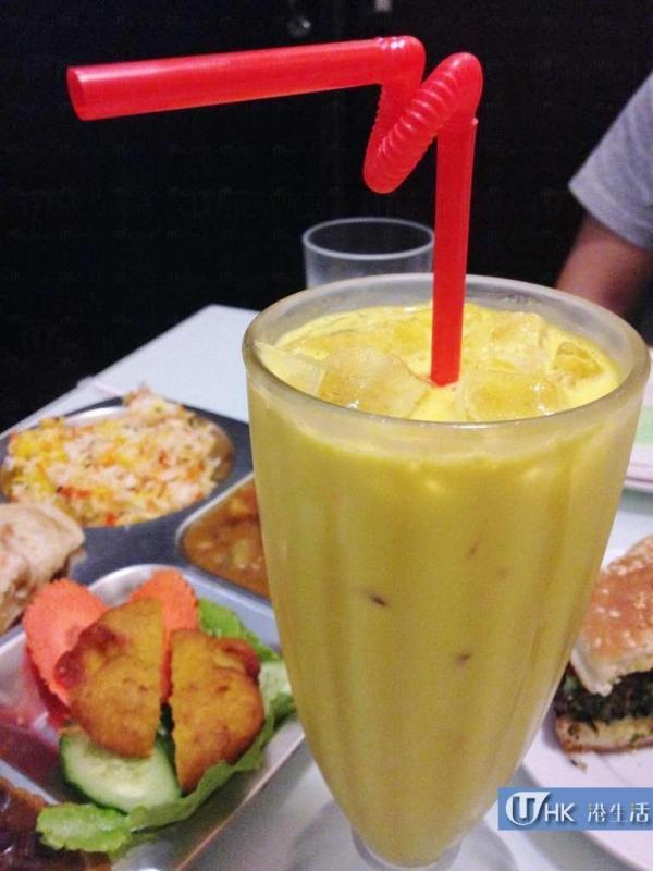 正宗百分百印度全素食品餐廳 芒果Lassi