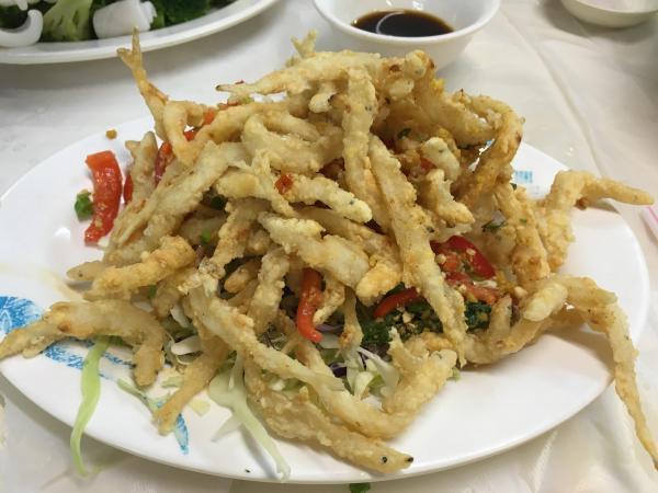 現時很少地方有得吃的椒鹽白飯魚