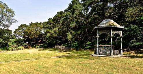 維多利亞式風格亭院(圖片來源:hk-victoria-peak官網)