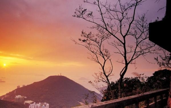 龍虎山日落