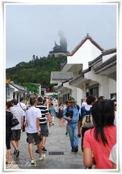 昂坪市集近年經常舉辦不同類型的特色活動,星期一至日均人頭湧湧。