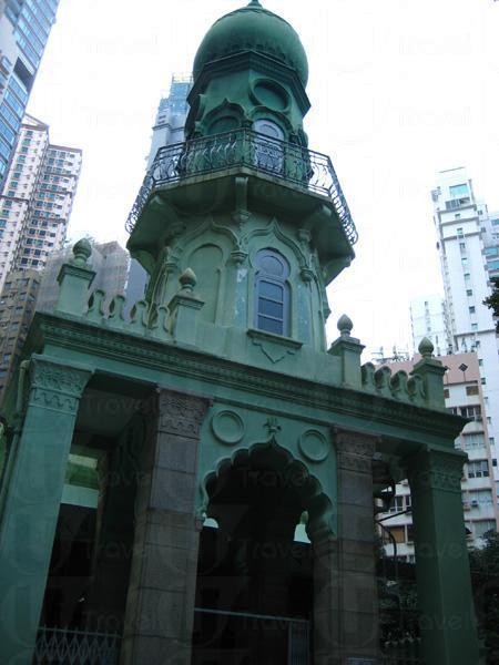 在石屎森林中,被遺忘的香港首座回教清真禮拜堂。
