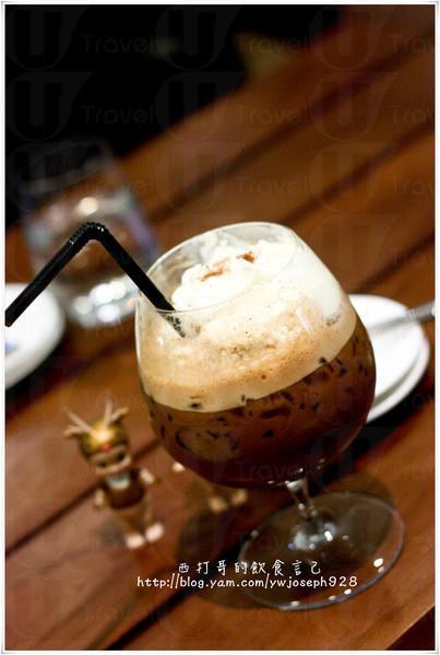 味道很不錯的 ice mocha。