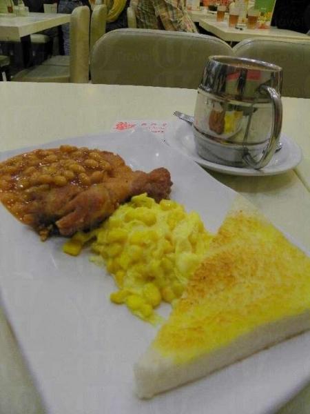 樂斯餐廳的早餐($25)甚豐富,吃飽去行山自然活力十足。