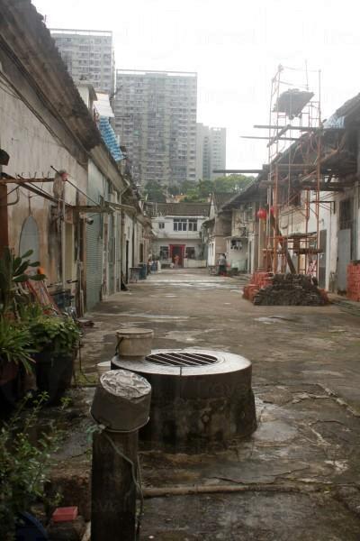 水井內有清水湧出,現在已變成錦鯉的家。