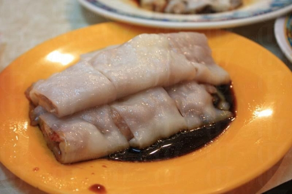 叉燒鮮蝦腸( $15 ),蝦隻十分彈牙。