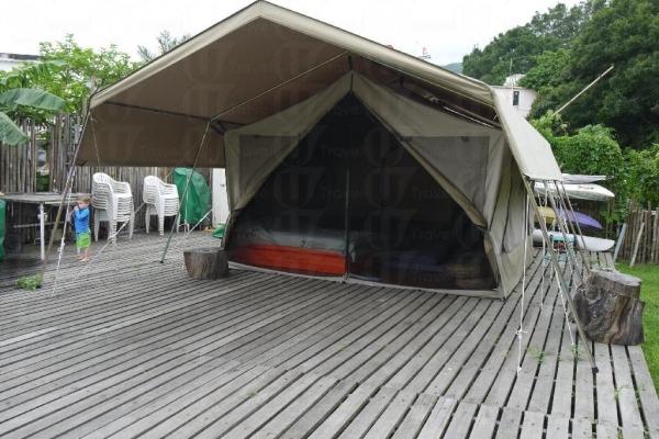 南非野外營內設冷機,夏天最適合怕熱怕蚊的朋友了。