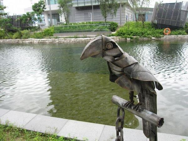 坐在可以聽到潺潺的流水聲,恍如置身於大自然。