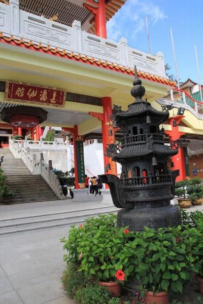 蓬瀛仙館歷史悠久,古式建築不失為拍照的好題材。