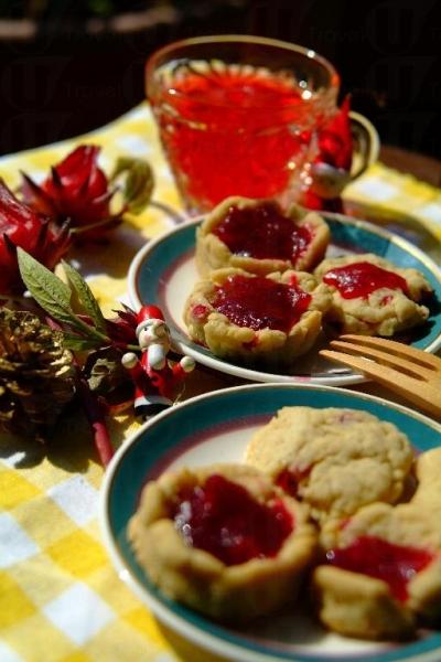 綠田園基金的工作坊讓大家可親自動手製作洛神花茶、曲奇及蜜餞,一次過滿足你 3 個願望。
