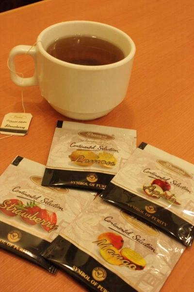 餐廳設自助 Drink Bar,供應各式飲品如汽水、咖啡、朱古力等,我選擇了果茶。