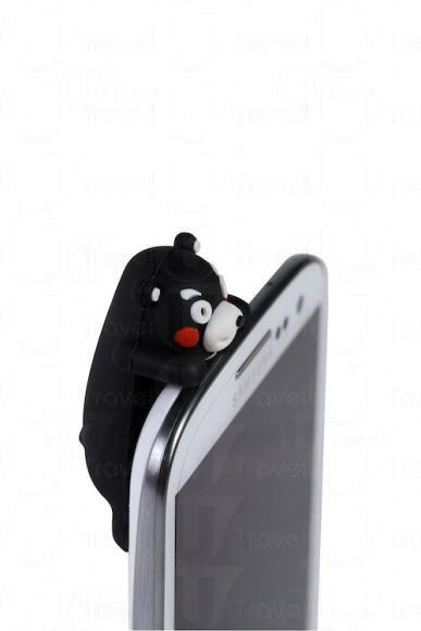 Kumamon 手機耳機插塞
